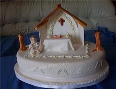 Ponque bautizo angeles (PaulitasArteyAzucar) Tags: ponques decoracinenpastillaje