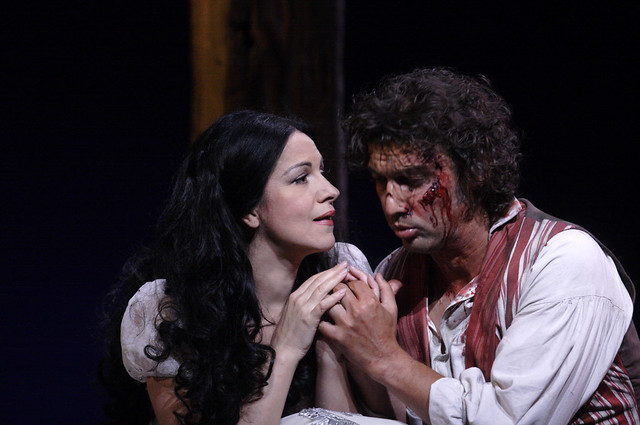 "Jonathan Kent's production of Tosca during the Royal Opera House 2010/11 season.   <a href=""http://www.roh.org.uk"" rel=""nofollow"">www.roh.org.uk</a> Photo: Catherine Ashmore."