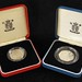 3044. (2) UK Piedfort Silver Proof Coins