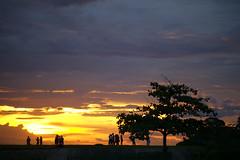 #850C8269- Sunset on hanger (Zoemies...) Tags: sunset beach clouds hanger balikpapan sooc melawai zoemies