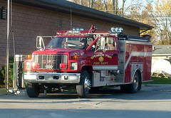Speaker 16-1 (railnut19) Tags: mi truck fire diesel michigan speaker bp peck gmc township pumper