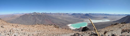 Licancabur Panorama - from the summit at 5960m (19,553 ft)