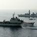 Omani Naval Ship Nasr al Bahr and HMS Monmouth During Exercise Khanjar Ha'ad near Oman