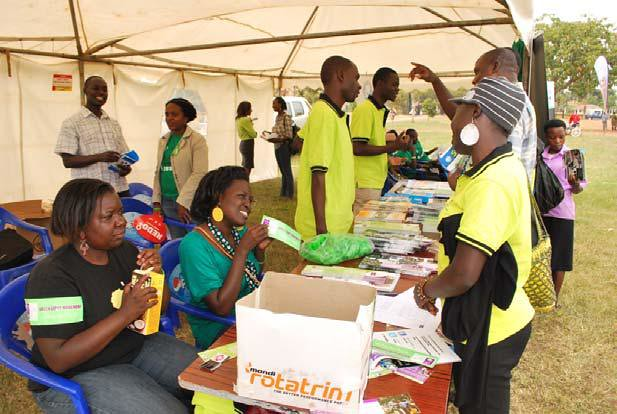 Youth event in Uganda highlights advocacy role