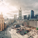 Sun Over Frankfurt