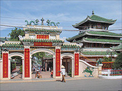 L'entrée du temple de la Déesse