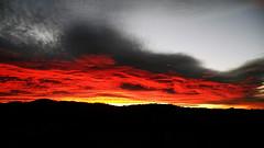 Tramonto - Sunset (MaOrI1563) Tags: sunset red sky italy florence italia tramonto natura cielo tuscany firenze toscana rosso regalo scandicci rossofuoco vingone