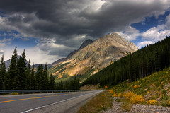 It's all about the light (JoLoLog) Tags: road trees canada mountains fall clouds rocks alberta rockymountains hdr lorien kananaskiscountry canadianrockies highway40 canonxsi mistyrange mygearandme mygearandmepremium mygearandmebronze mygearandmesilver mygearandmegold mygearandmeplatinum mygearandmediamond mountarethusa