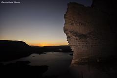 The Pit, Sardinia, Italy (Max.80) Tags: sardegna travel wallpaper sky italy lake landscape lago italia sardinia pit cielo cava temo sfondi monteleoneroccadoria