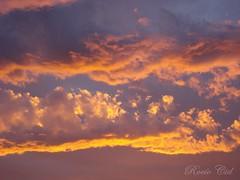 ~ Color esperanza ~ (• R o x Y •) Tags: atardecer diego lila amarillo cielo nubes fe naranja pensar esperanza esperanzas fé torres celeste rosado 2011 diegotorres