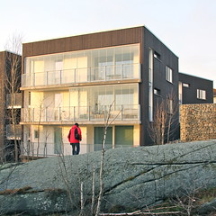 Slottsberget (hansn (2 Million Views)) Tags: berg architecture modern gteborg square rocks europa europe sweden contemporary gothenburg architect sverige arkitektur goteborg kub klippor squarish arkitekt bostadsrttsfrening tenantownerssociety kubarkitekter