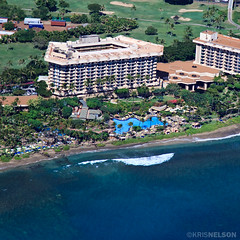 The Hyatt Regancy Maui resort in West Maui.