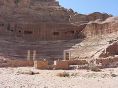"Theater (Train Fan) Tags: street theater theatre roman petra cliffs jordan valley tombs romantheatre romantheater siq"" ""street ""outer facades"""