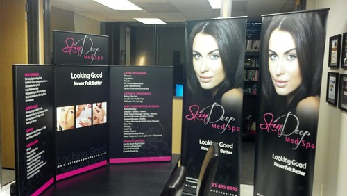 Trade Show Displays - Skin Deep Med Spa