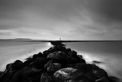 IMGP0248.jpg (MarkE_T) Tags: longexposure blackandwhite rocks poloroidfader pentaxk10d beach llanelli gowerpeninsular smcpentaxda1645mmf4edal wales