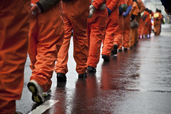 Witness Against Torture: Marchers' Feet