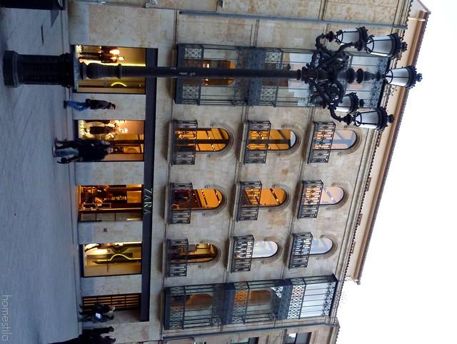 ZARA de Salamanca Facade