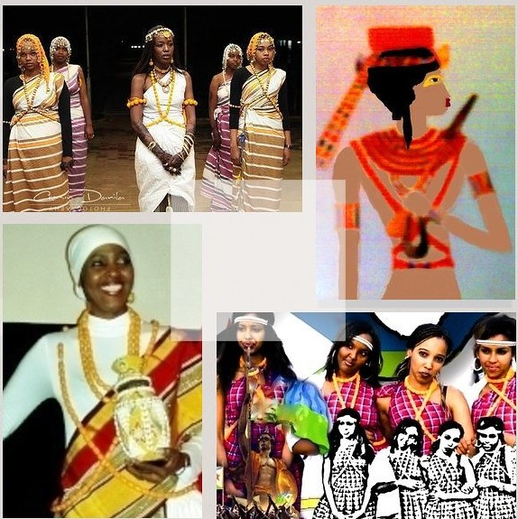 Somali-Ancient-Egyptian Cutural Finery & the Egyptian Princess Neefarure 15th century  B-C