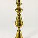 122. 19th Century Tapered Brass Candlestick