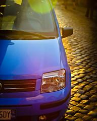Drive (Loco_Ono) Tags: italy rome car nikon sunflare d7000