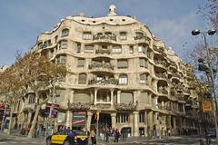 Casa Mil-La Pedrera (wakarimasen82) Tags: barcelona spain casamil lapedrera antonigaud