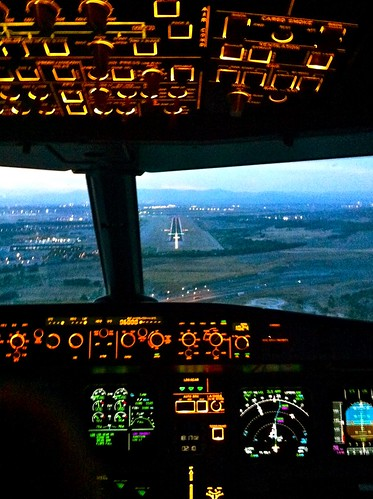 Landing in Madrid (MAD)