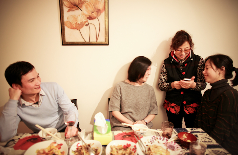 Chen Jie home dinner 032