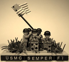 USMC (Project Azazel) Tags: usa japan usmc japanese us google war lego flag navy pa american corps ww2 okinawa marines custom hbo marinecorps guam iwojima semperfi guadalcanal saipan allies tarawa wwll peleliu unitedstatesmarinecorps googleimages thepacific usmarines bougainville mtsuribachi tinian alwaysfaithful navalwarfare famouspics projectazazel