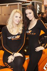 Ginetta Girls (Michael Shillitoe Photography) Tags: show girls car promo birmingham international babes motor 2012 nec autosport ginetta promogals