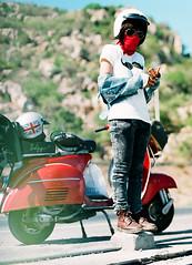 Qskulls <3 (The.Scooterist) Tags: blackandwhite tattoo model mod vespa rally helmet scooter super lambretta vietnam adventure workshop restore restoration spraypaint scooterist redvespa vespa150 vespasuper vespavietnam vesparider thescooterist vespapinup vespainvietnam lambrettainvietnam