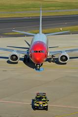 Norwegian Air Shuttle Boeing 737-3K9 LN-KKW Unicef c/s (EK056) Tags: unicef air norwegian shuttle cs boeing 7373k9 lnkkw