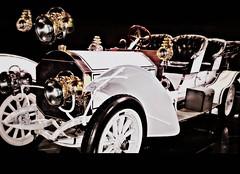 Topmodell der Jahre 1907 bis 1911 - Der Doppelphaeton DMG, Daimler Motoren Gesellschaft , DMG (1890-1926), automobile Mercedes-Benz, Daimler AG (eagle1effi) Tags: art museum vintage germany fa