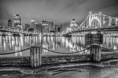 Reflections from the North Shore in B&W HDR (Dave DiCello) Tags: bw beautiful skyline photoshop nikon pittsburgh tripod christmastree northshore bluehour nikkor hdr highdynamicrange pncpark pittsburghpirates cs4 steelcity photomatix beautifulcities yinzer cityofbridges tonemapped theburgh pittsburgher colorefex cs5 beautifulskyline d700 thecityofbridges pittsburghphotography davedicello pittsburghcityofbridges steelscapes beautifulcitiesatnight hdrexposed picturesofpittsburgh cityofbridgesphotography
