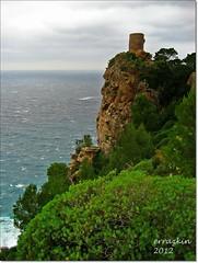 Costa de Mallorca.Coast of Majorca (ironde) Tags: verde green tower island islands spain torre paisaje mallorca isla islas lanscape majorca verger baleares balearic ironde