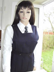 gymslip 019 (gymslip-connoiseur) Tags: school girls uniform gymslips flickrhivemind gymslipimages gymslipgirls