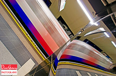 London Underground Abstract (david gutierrez [ www.davidgutierrez.co.uk ]) Tags: city uk travel light urban abstract reflection london art colors train underground subway tren mirror metro interior tube platform railway londonunderground publictransport thetube electrictrains greaterlondon rapidtransitsystem londonundergroundabstract