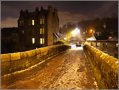 Snuff Mill Bridge (Ben.Allison36) Tags: road uk nightphotography bridge white mill water scotland nightshot glasgow conservation olympus cart tenement cathcart snuff linnpark lindsayhouse e450 cathcartmill