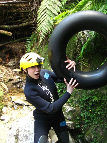 Waitomo Caves Black Water Rafting