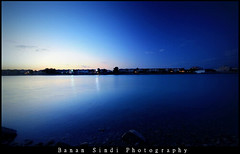 SunRise (Banan Sindi) Tags: blue sea sunrise