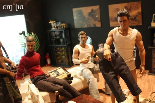 Gay strip poker