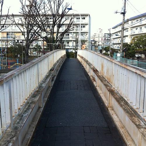 おまけ。この橋で石神井川を渡ります。