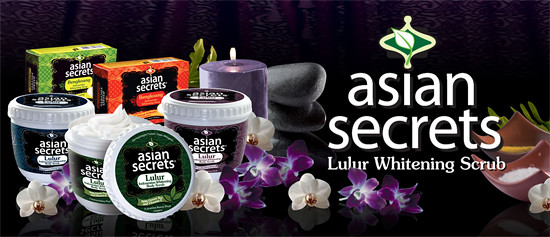 Asian Secrets Lulur Whitening Scrubs and Bengkoang Soaps