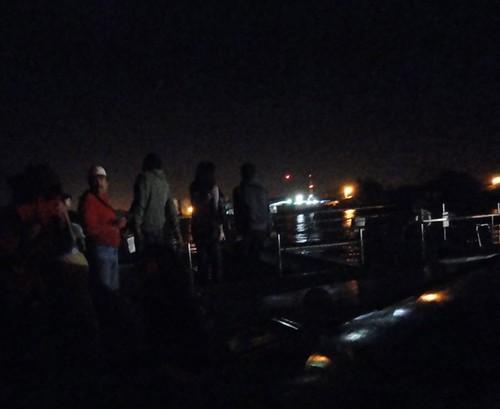 En el Catamarán hacia Punta Coral