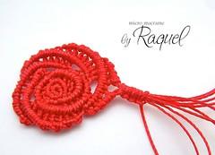 Rosa Margaretenspitze (Raquel's Designs) Tags: margaretenspitze macrametutorial macramemicromacramemicromacrameredcoralstripesearrignsartestutorialdesignknotsknottedraquelsbeadesignsjewelrycavandolibeadedmacrametutorialooakdesignerstyle micromacramepattern margaretlace esquemamicromacrame caviarmacrame rosemicromacrame