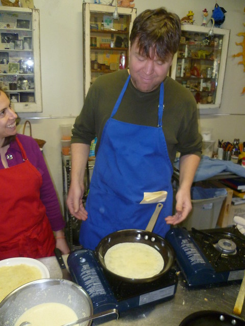 Crepe Cookery Class 011