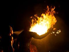 Thumbuakar Tribal Performances (naokitnk) Tags: singapore nightsafari olympuse5 olympuszuikodigitaled50mmf20macro