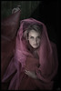 tomorrows dance (biancavanderwerf) Tags: pink woman lady pose dark dance model fabric mysterious bianca cloth dreamcatcher elzemieke