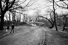 "bridge no. 28 ""gothic bridge"" (Charley Lhasa) Tags: leica city nyc newyorkcity bridge urban ny newyork film 35mm centralpark manhattan scan xp2 gothamist mp ilford bridlepath lti leicamp xp2super400 ilfordxp2super400 gothicbridge software:adobe=lightroom yelloworangefilter leicaelmaritm28mmf28asph file:original=jpeg digitalminilab bridgeno28 lens:leica=2828 camera:leica=mp roll:number=mp0009 folder:name=5089 image:number=508916a0017 date:uploaded=120208203101 filter:bw=040m set:name=lti325951 lti:scan=325951 set:name=mp0009"
