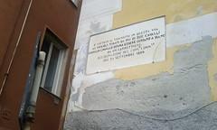 Nervi (Luigi Rosa) Tags: italy sign liguria via transito cavalli due 1889 nervi scritta italya vietato comunale veicoli consiglio carrettiere tirati guidato deliberazione