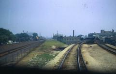 19670909 02 C&NW and CTA near Laramie Ave (davidwilson1949) Tags: railroad chicago train illinois cta transit rapidtransit cnw